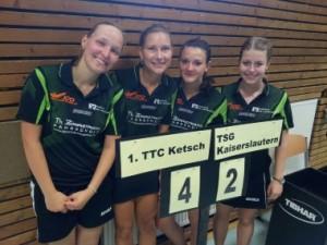 1. Damen bei den Deutschen Pokalmeisterschaften