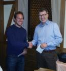 Verabschiedung von Matthias Faulhaber bei der Mitgliederversammlung