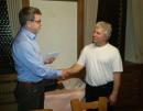 Verabschiedung von Otto Mitsch bei der Mitgliederversammlung